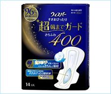 護舒寶(好自在)  超柔軟瞬潔400 夜用超特長