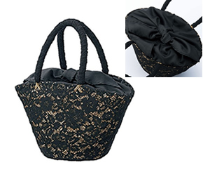 蕾絲設計提包
