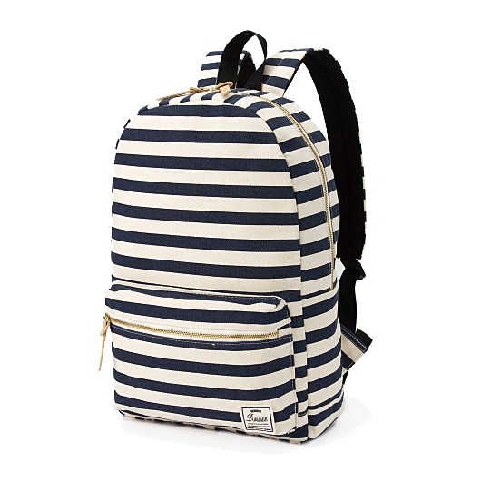 Canvas Striped Backpack