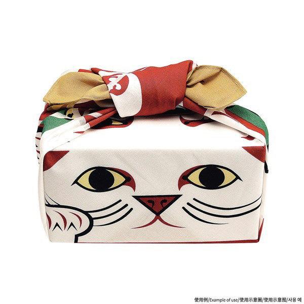 [風呂敷] 50 COCHAE 折紙風呂敷 招財貓