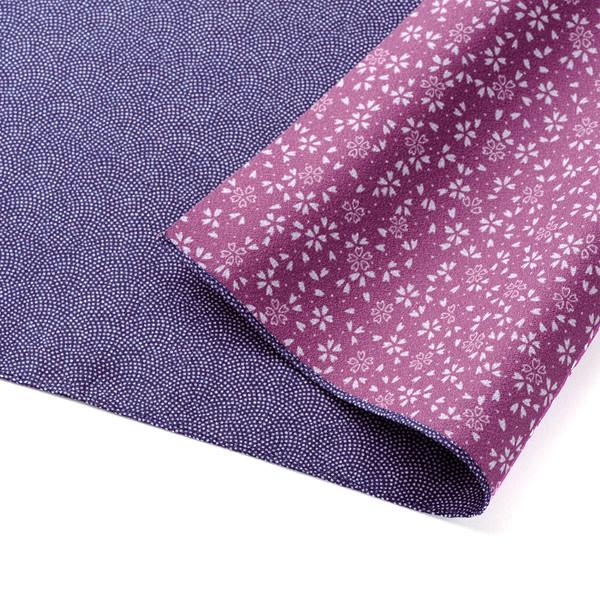 [包巾] 兩面用 鯊魚 藍色/ 薔薇色