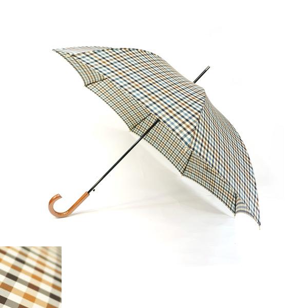 先染格子自動傘