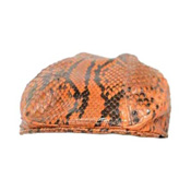 Snake Leather Hunting Cap (Python)
