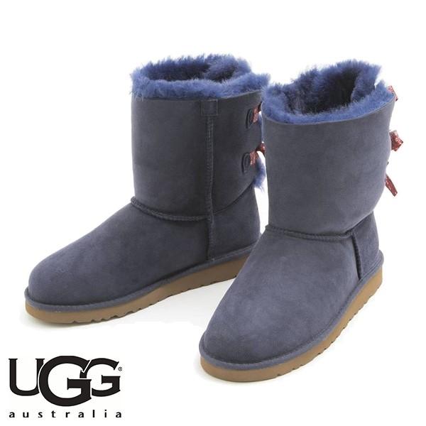 UGG BAILEY BOW BANDANA INDIGO (藏青色)/ 雪靴/ 女裝, 童裝