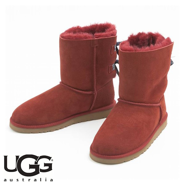 UGG BAILEY BOW BANDANA MATADOR RED (紅色)/ 雪靴/ 女裝,​ 童裝