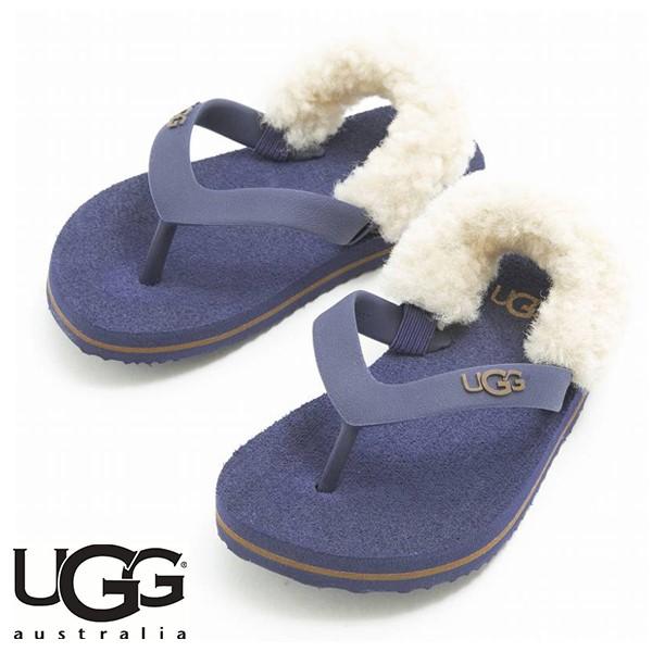 UGG YIA YIA MEDIEVAL BLUE/CHESTNUT (藍色)/ 海灘涼鞋/ 童裝, 嬰兒