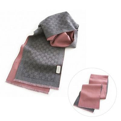GUCCI 4117264g200 圍巾 (粉色)/ 男女兼用