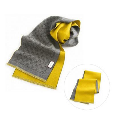 GUCCI 4117264g200 圍巾 (黃色)/ 男女兼用
