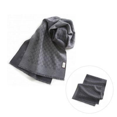 GUCCI 3912464g200 圍巾 (炭灰色)/ 男女兼用