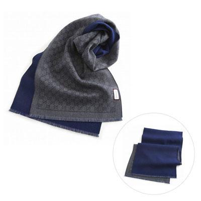 GUCCI 4020934g200 圍巾 (藏青色)/ 男女兼用