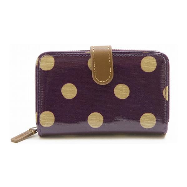 Cath Kidston ca592628 Folded Zip Wallet (紫色)/ 女性時