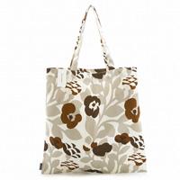 Marimekko 067825-182 GREEN GREEN Tote Bag (Gray x Brown) / Ladies'