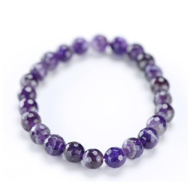 京念珠/手鏈 手鏈 紫水晶