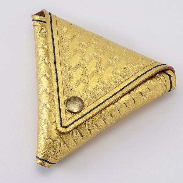 金箔三角零錢包