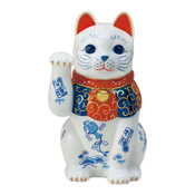 Somenishiki Good Luck Shofuku Maneki Neko (8)