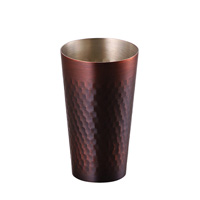 Pure Copper Cool Cup, 330ml, Bronze Finish