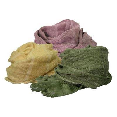 棉質圍巾(盒裝)