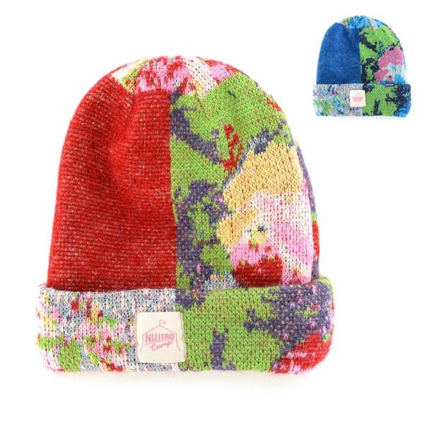 帽子 (兩面式) 花朵紋