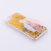 iPhone 6/6S Case Food Sample, Sushi, Japanese Amberjack (Small) Sparkling Yellow