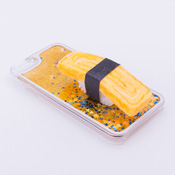 iPhone 6/6S Case Food Sample, Sushi, Egg (Small) Sparkling Yellow
