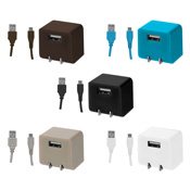 AC Charger + Micro USB Cable [GH-ACMBB Series]
