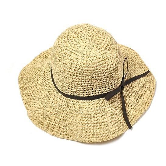 凉爽编织帽