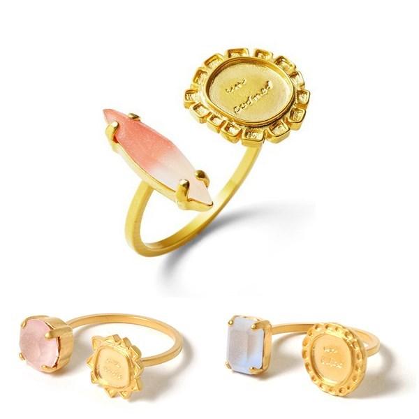 两种造型设计时尚戒指