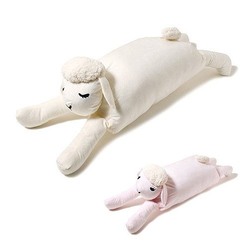 睡个好眠! 绵羊抱枕