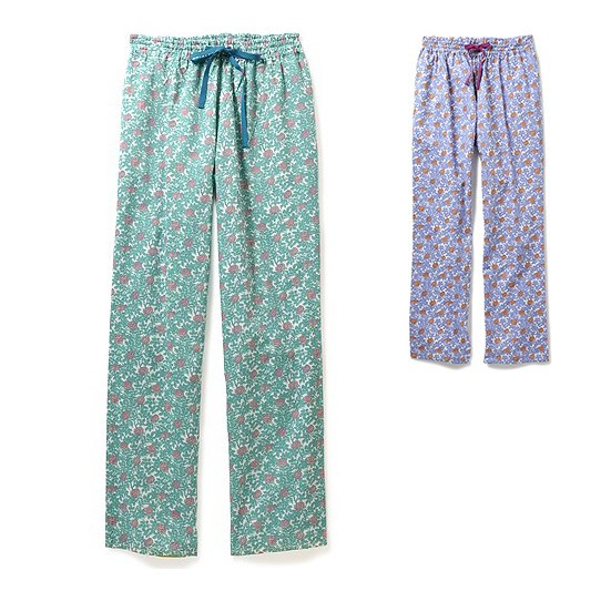 威廉・莫里斯设计 玫瑰裤