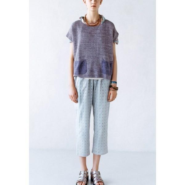 民族风蕾丝裤