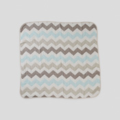 6-Layer-Weave Gauze Swaddling Clothes, Chevron SX