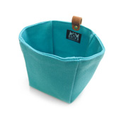 Cohana Canvas Accessory Bag, Pale Blue
