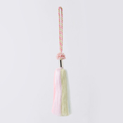 Art Fiber Endo Tassel System 03, Pink/Light Pink/Light Green 3-Color Gradation