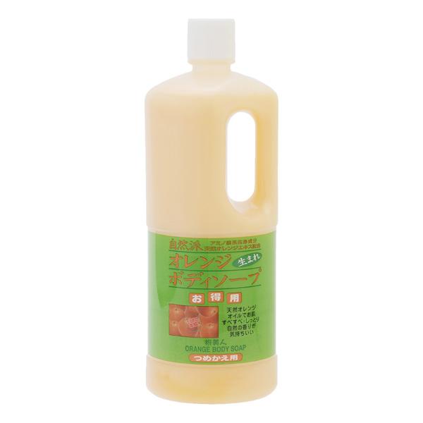 旅美人 柑橘沐浴乳 1000ml 補充包