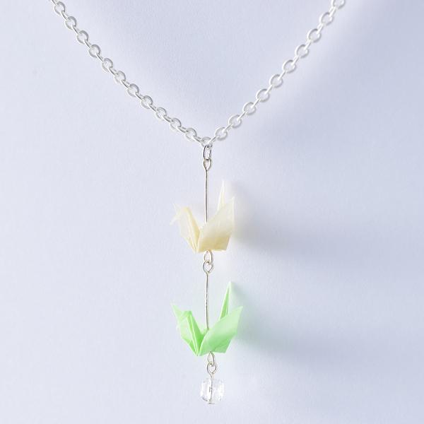 Crane 項鍊 #02 綠色
