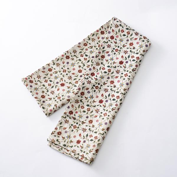 圍巾  蔓手金更紗