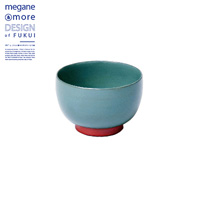 Soup Bowl, Moss Green x Orange