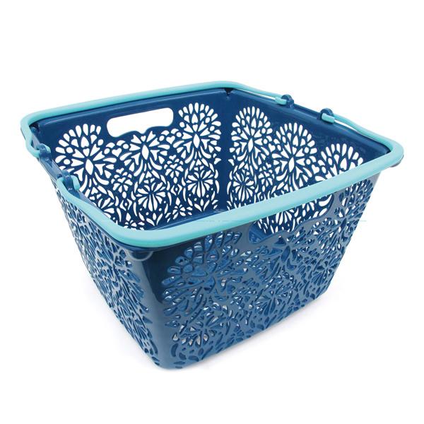 MAHALO BASKET(Li'i) 正方形籃子 靛藍色