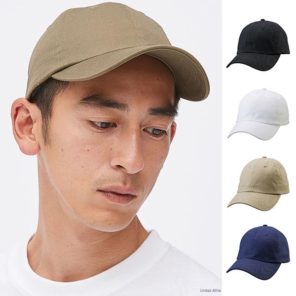 [United Athle] 棉製 鴨舌帽