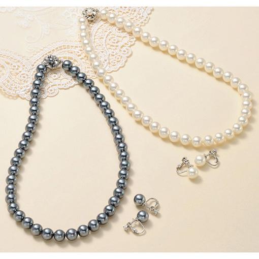 [cecile] 珍珠首飾2件組/ 2018年春季新商品, 女裝