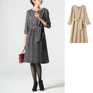 [cecile] Key Neck Dress / New Arrival Spring Summer 2020, Ladies