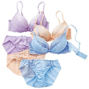 [cecile] Bra & Panties Pair / New Arrival Spring Summer 2020, Inner