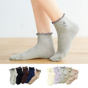 [cecile] Foot Opening Mellow Socks (5-Pair Set) / New Arrival Spring Summer 2020, Inner