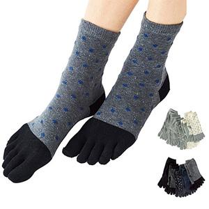 [Cecile] Daily 5-Toe Socks, 5-Pair Set / New Arrival Spring Summer 2020, Inner