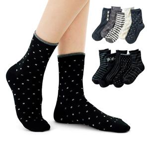 [cecile] Socks (5 Pairs) / New Arrival Spring Summer 2020, Inner