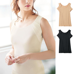 [cecile] Sleeveless with Sweat-Absorbing Pads / New Arrival Spring 2020, Inner