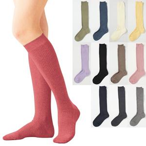 [Cecile] Family Knee-High Socks, Same-Color 3-Pair Set / New Arrival Spring 2020, Inner