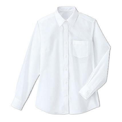 長袖襯衫(女孩)(抗菌・防臭)
