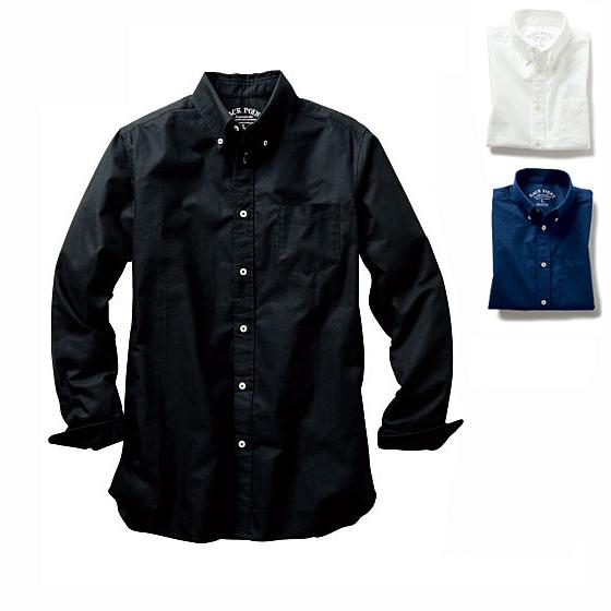 鈕扣領襯衫(長袖)