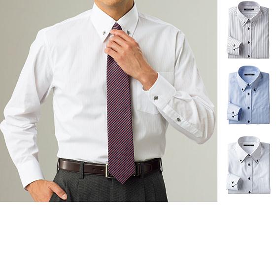 不易變形 造型Y襯衫(寬鬆剪裁)